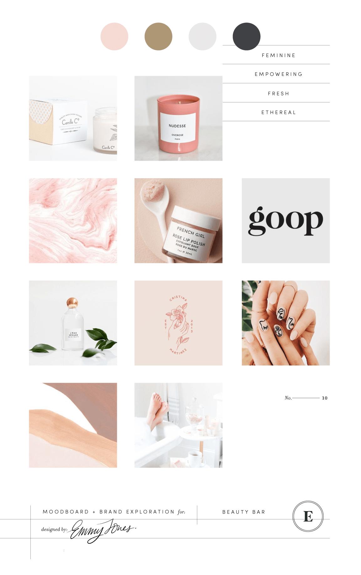 Beauty Bar Branding & Packaging