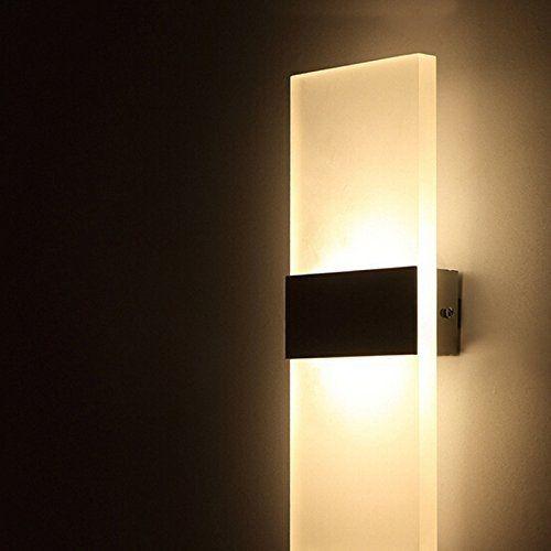 3w Led Wall Sconce Mini Size Simple Wall Light Interieur Mur Lampe Escalier Amazon Fr Luminaires Et Eclairage Luminaire Lampe Led Exterieur Led Escalier