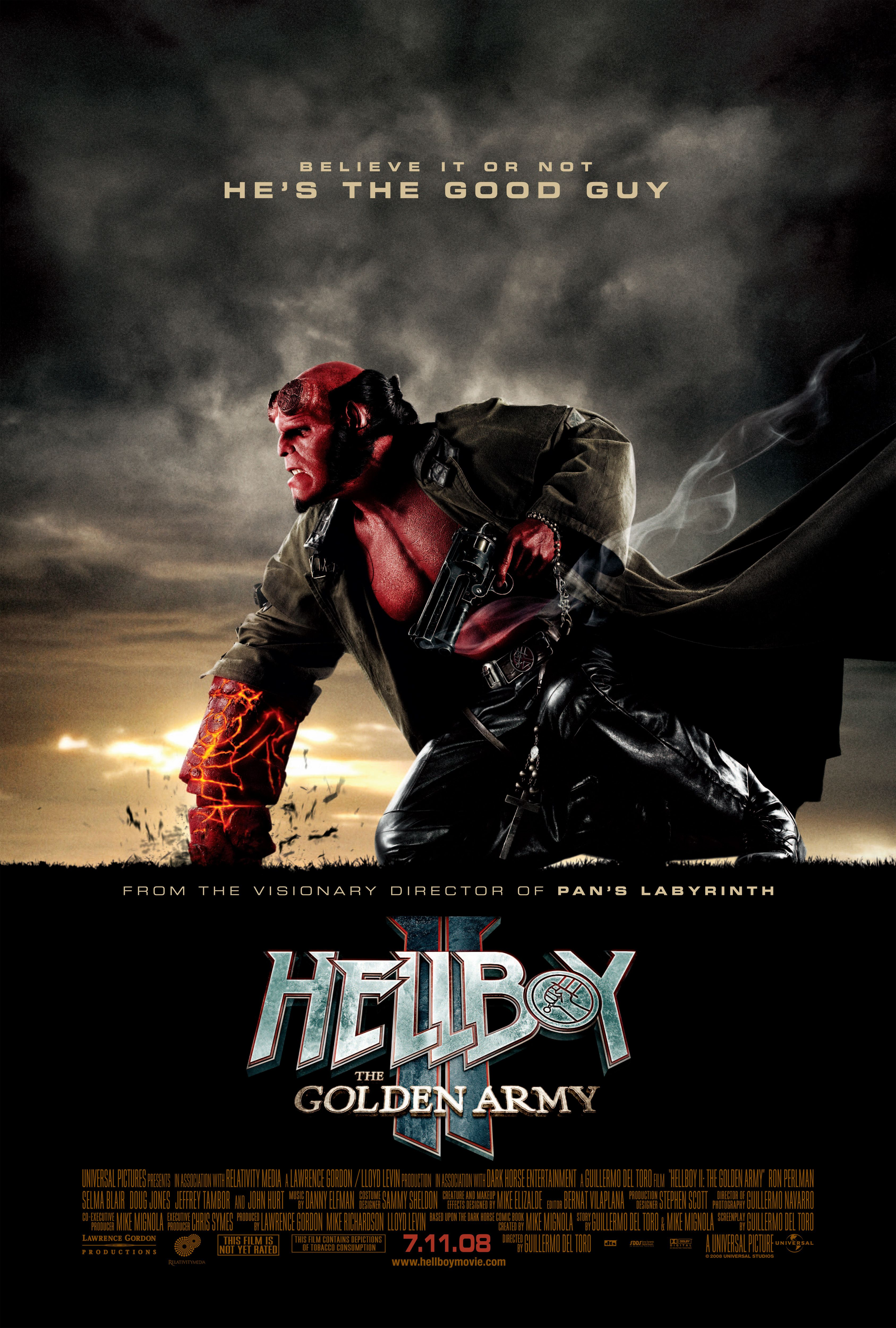 Hellboy Ii The Golden Army 2008 With Images Golden Army