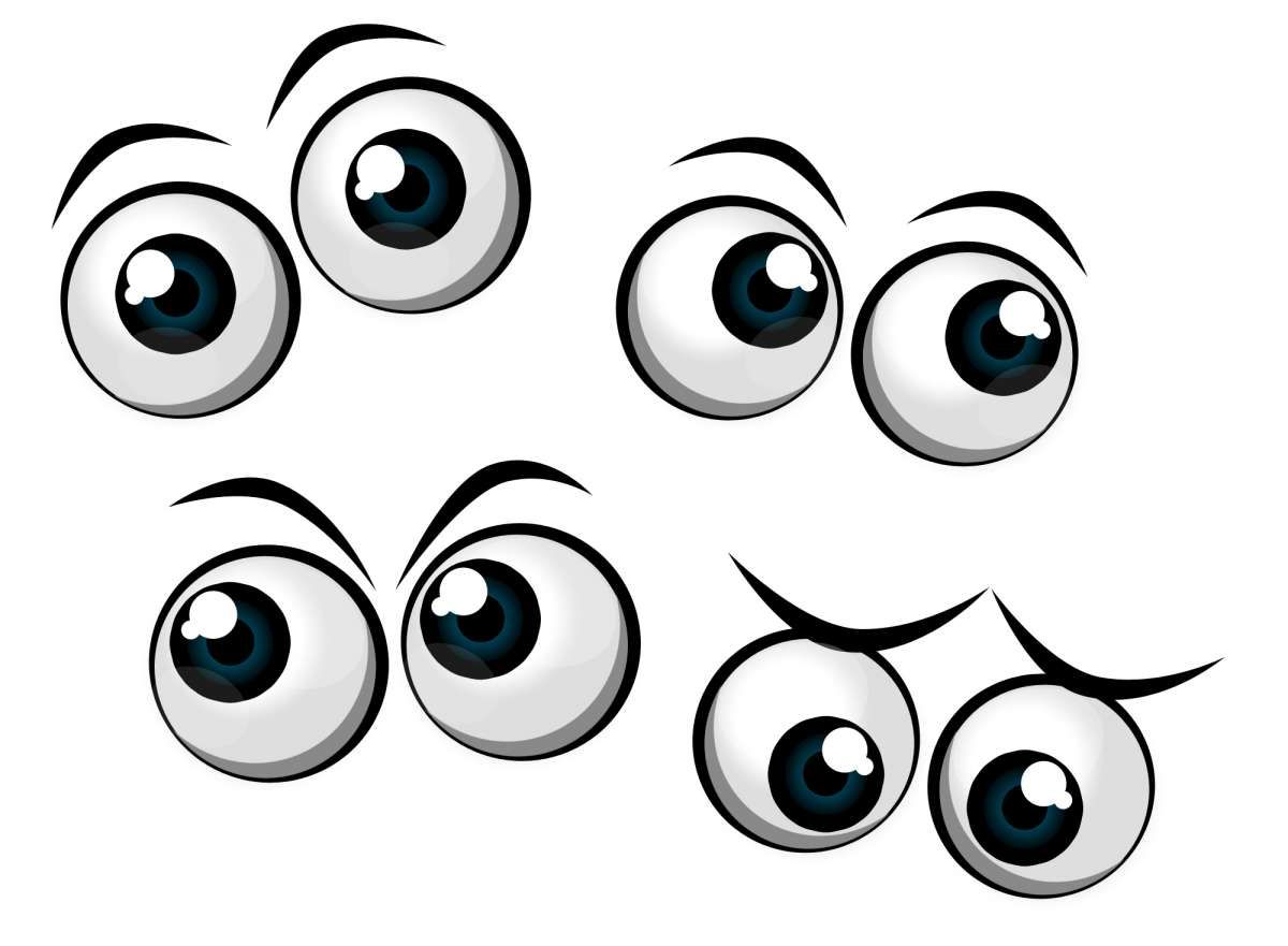 16 Excited Cartoon Eyes Png Cartoon Eyes Eyes Clipart Cartoon Faces