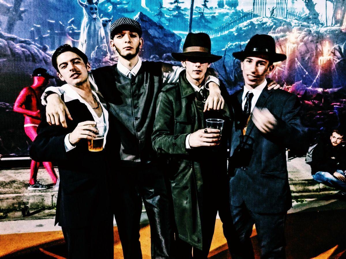 Mafia Retro Vintage 40s 70s Men Clothing