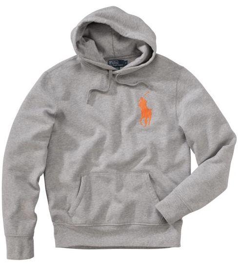 big sale e9085 c9503 usa ralph lauren grau hoodie e4ed4 878e6