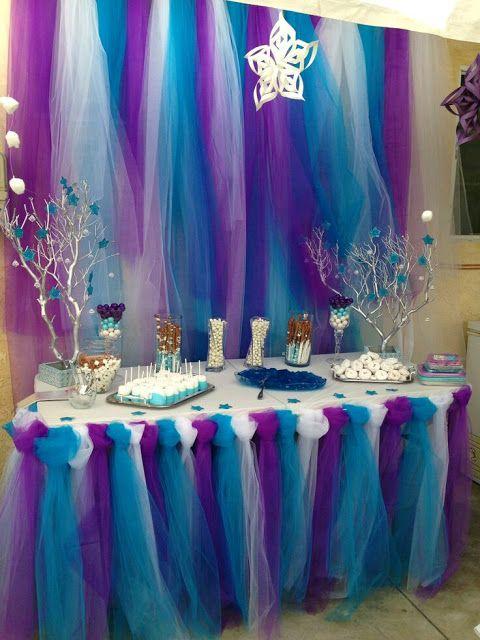 1b37874ebf más y más manualidades  Increíbles ideas para decorar fiestas usando tul
