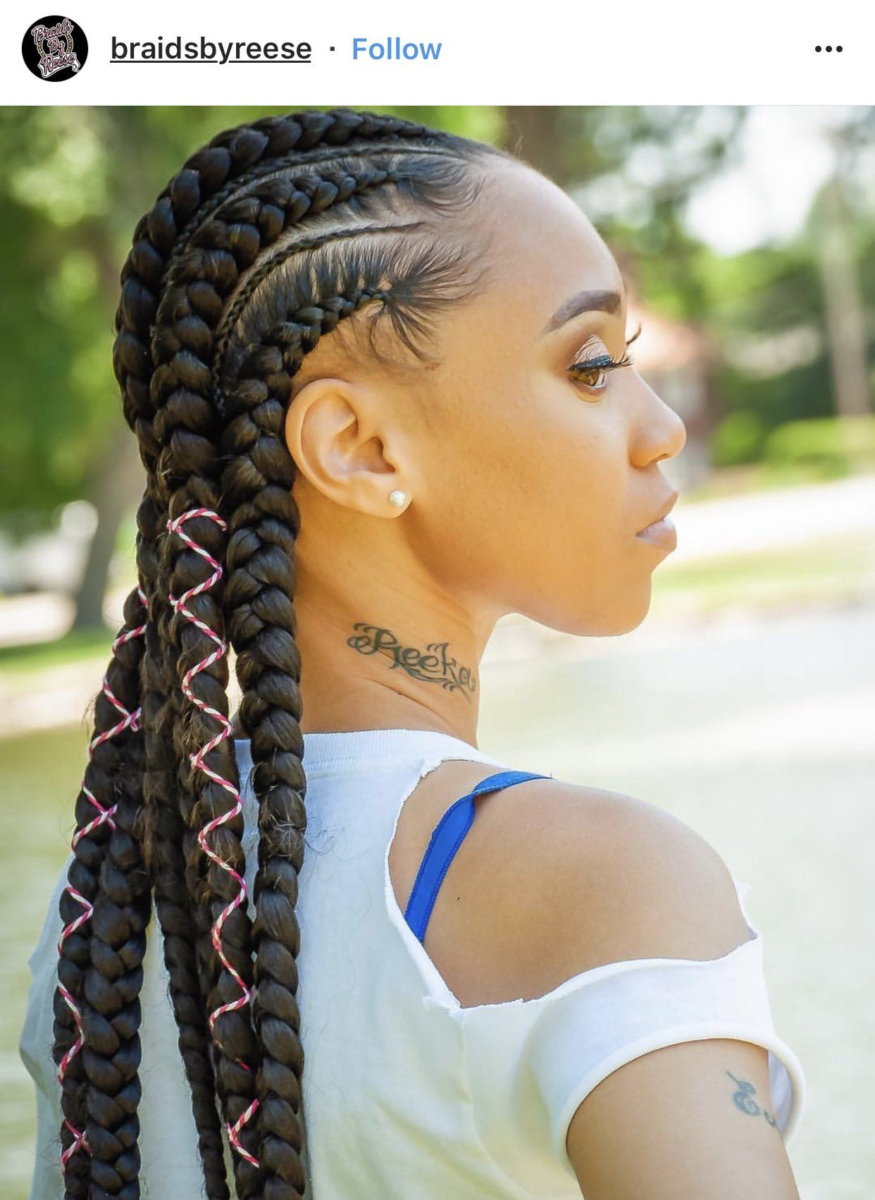 Protective Styles 101 Must See Feed In Braids Feed In Braids Hairstyles Feed In Braid Pretty Braided Hairstyles