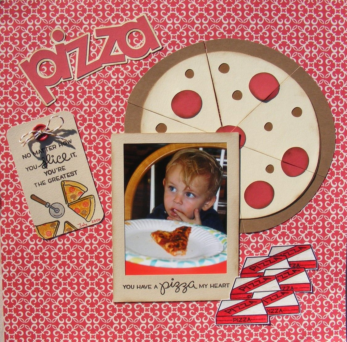 Pizza scrapbook com