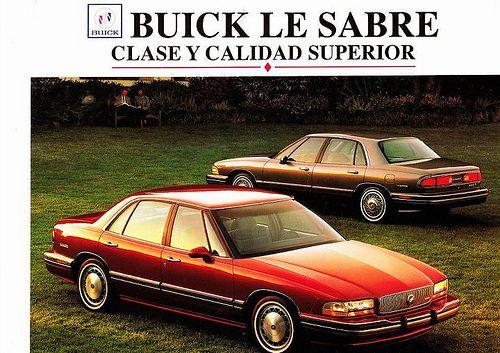 Buick Lesabre Brochure 1992 1 Buick Lesabre Buick Cars Buick