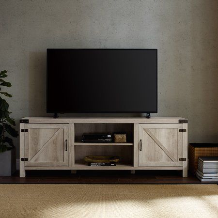 Home In 2020 Barn Door Tv Stand Home Modern Farmhouse