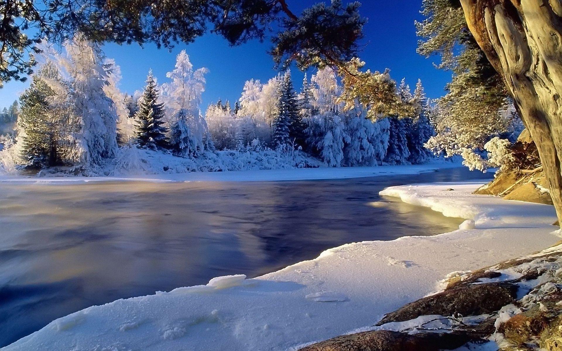 Beautiful Winter Scenes Wallpaper Beautiful Winter