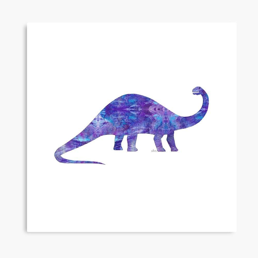 Dinosaur Brontosaurus 102019 Canvas Print