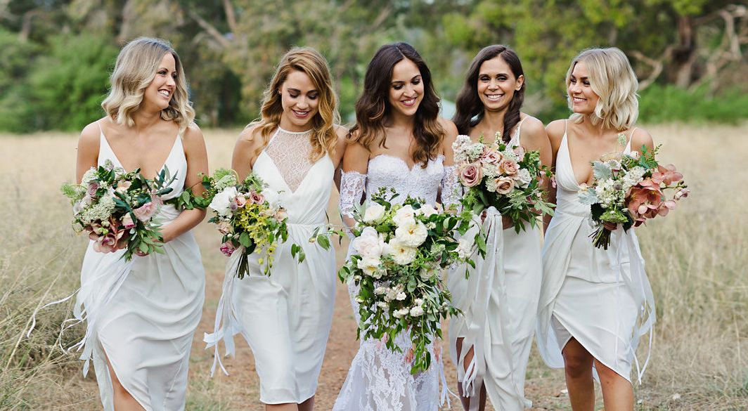 7 Bridesmaids Who Wore White