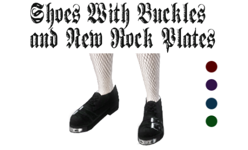by Lady Hayny - Shoes with buckles and New Rock Plates ...