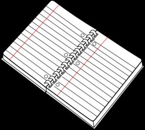 Spiral Notebook Clip Art Vector Clip Art Online Royalty Free Public Domain Free Clip Art Notebook Drawing Clip Art