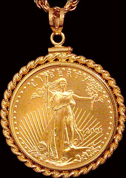 Gold Coin Pendant Gold Coin Jewelry Coin Jewelry Gold Coin Necklace