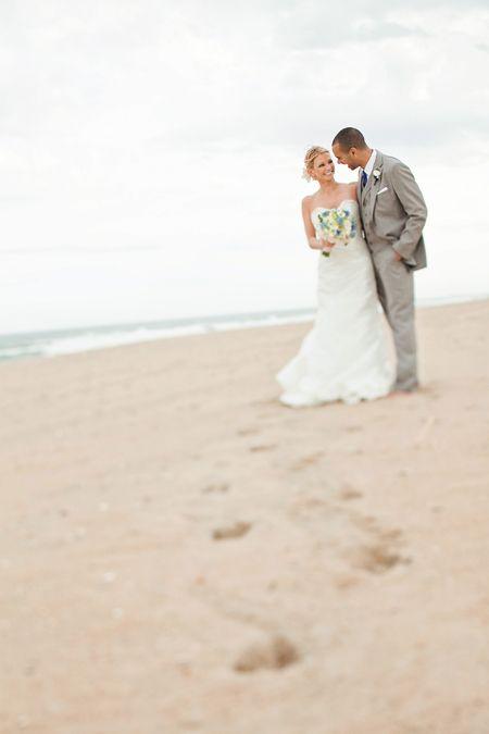 A Rustic Autumn Beach Wedding Beach Wedding and Weddings