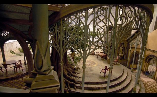 lord of the rings elven architecture google search