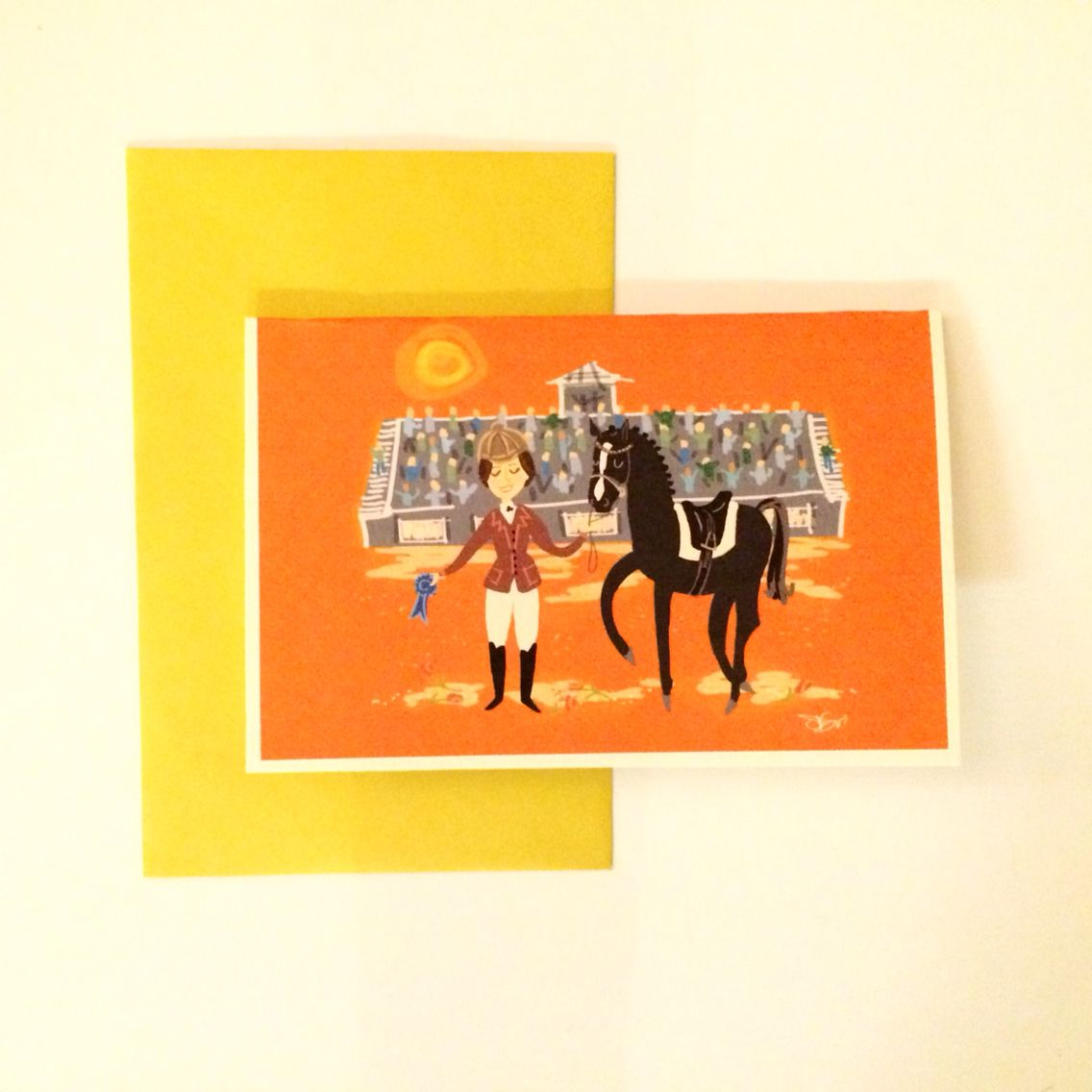 Retro Inspired Oversized Greeting Cards Featuring Illustrations By