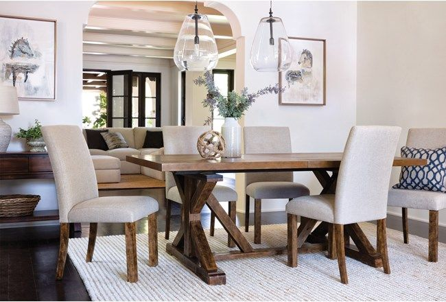 Chandler Extension Dining Table First Place Dining Table