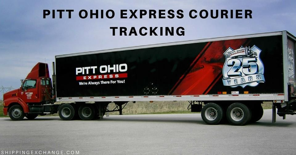 Pitt Ohio Tracking Track Trace Pitt Ohio Express Courier Package And Get Delivery Status By Entering Courier Tracking Numbe Ohio Courier Logistics Industry