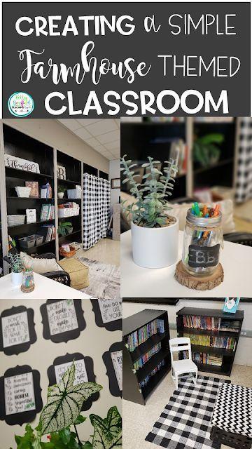 Farmhouse Themed Classroom Decoration Ideas