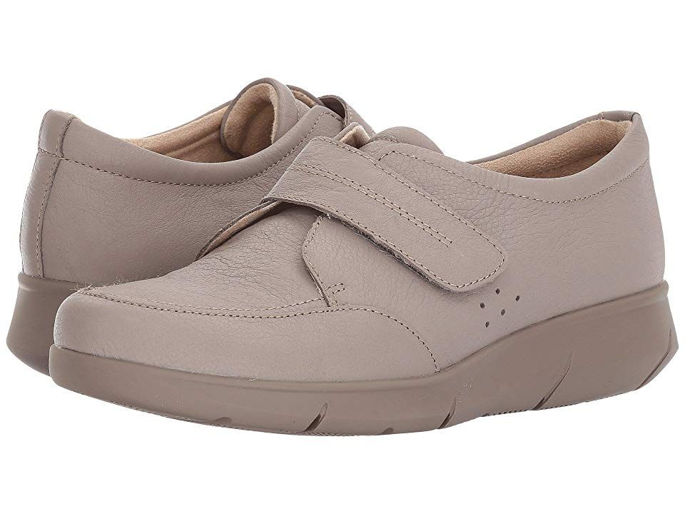 Hush Puppies Believe Mardie Ice Grey Leather Women S Hook And