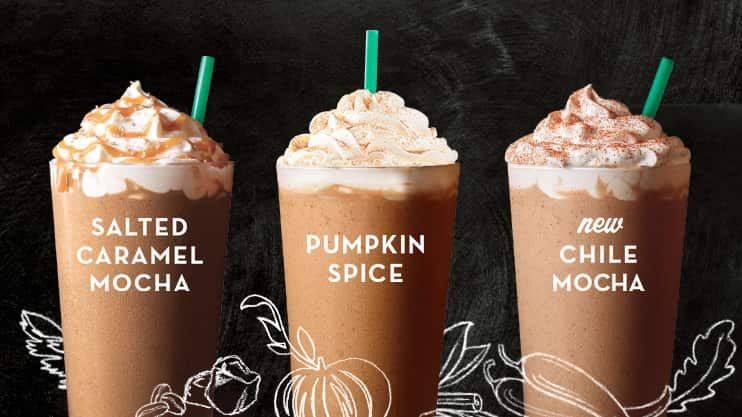 Discover the varieties of Starbucks Frappuccino®, the delicious sweet blended drinks made from coffee, milk and ice that have been a favorite since 1995.