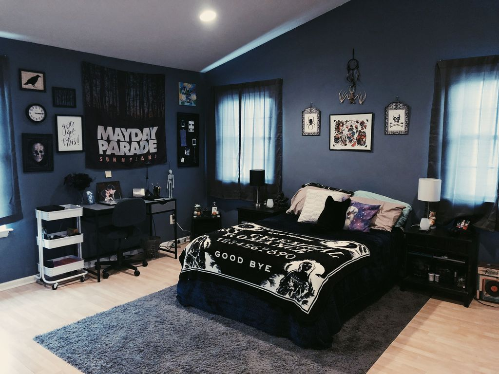 28 Amazing Bedroom Decoration Ideas With Halloween Theme  Edgy