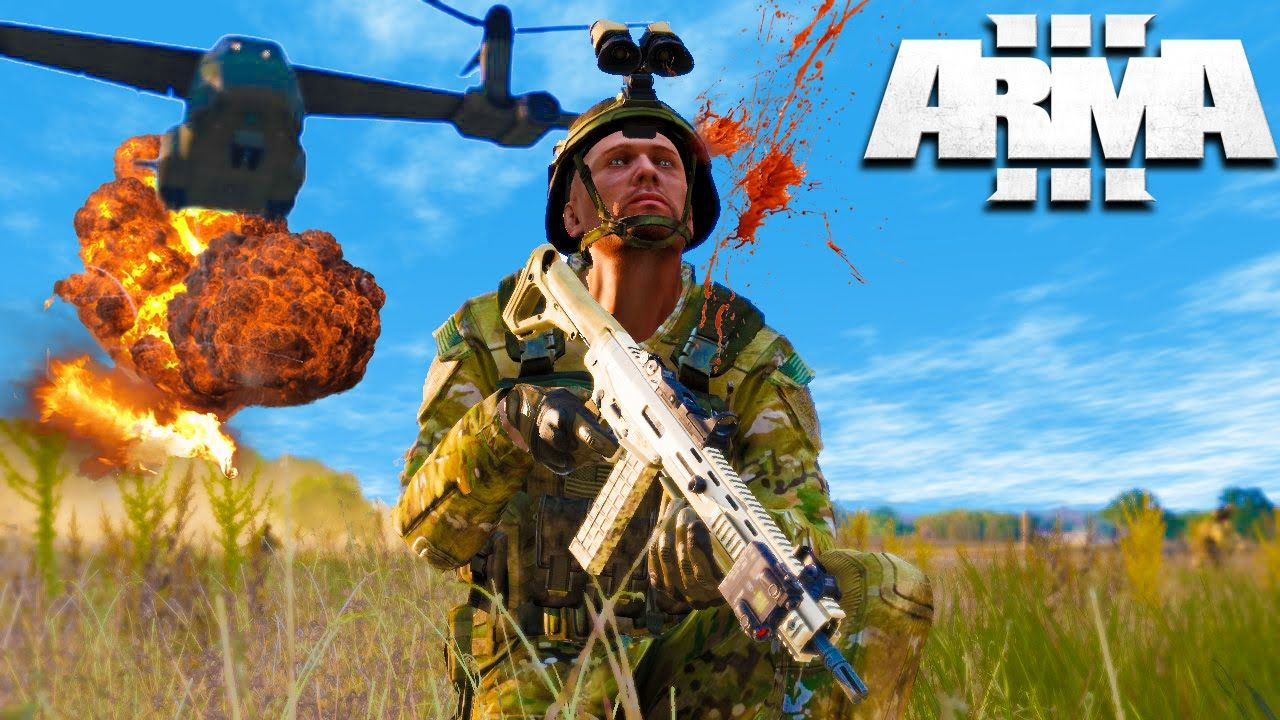 Arma 3: LARGEST BATTLE IN HISTORY WW3! Arma 3 Military