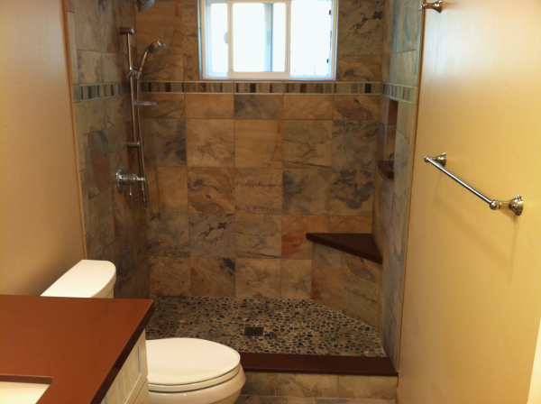 How to Remodel a Small Bathroom, This story shows you how to make your small, cramped bathroom more convenient, elegant and easy to clean. Description from bathroomdesignpicture.biz. I searched for this on bing.com/images