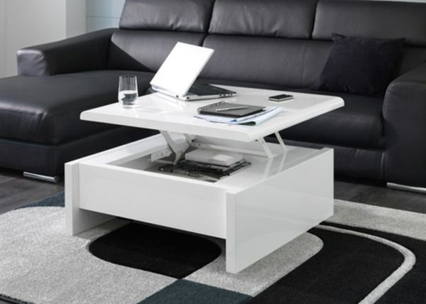Petite Table Basse Table Basse Verre Design Ladefenselincoln