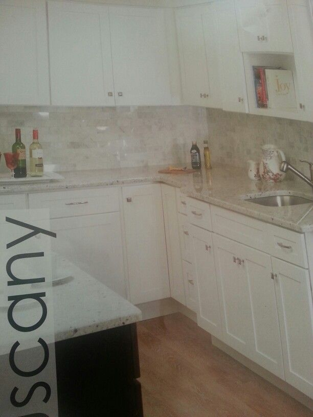 Perfect Sunco Tuscany Cabinets In White.