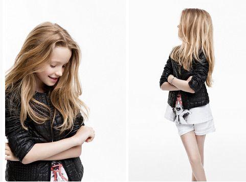 moda infantil de zara