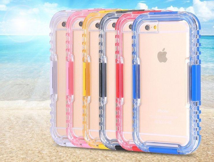 super popular 15d3d ea3b0 iphone 6s plus Underwater Clear Water/Dirt/Shock Proof Swimming Dive ...
