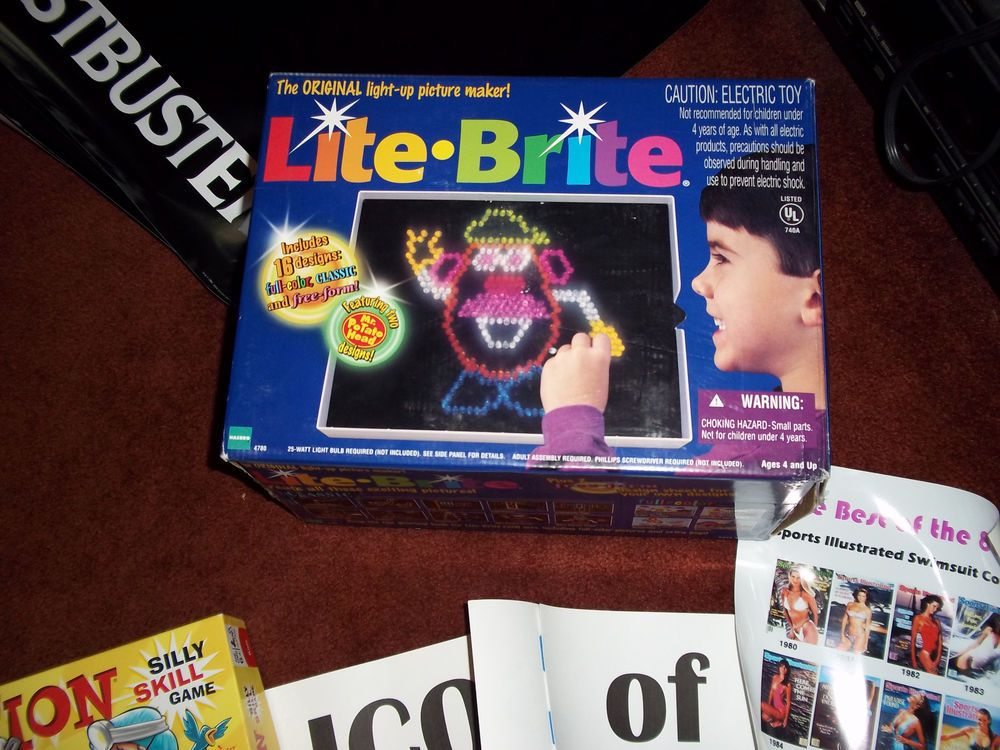 1980s themed party pack games movies posters decorations