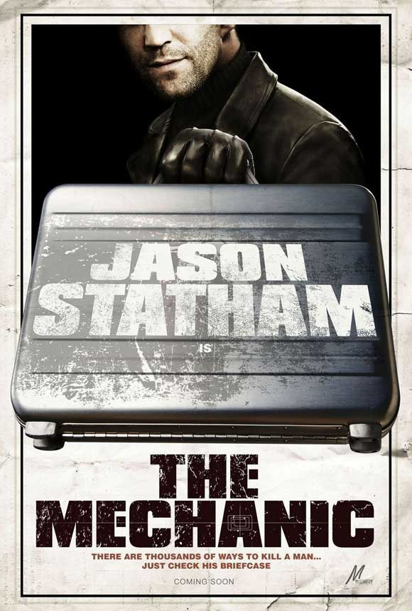The Mechanic 11x17 Movie Poster 2010 Best Movie Posters Movies Jason Statham