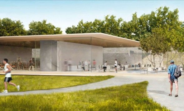 Apples wild new headquarters 4 l spaceship cupertino applecampus2