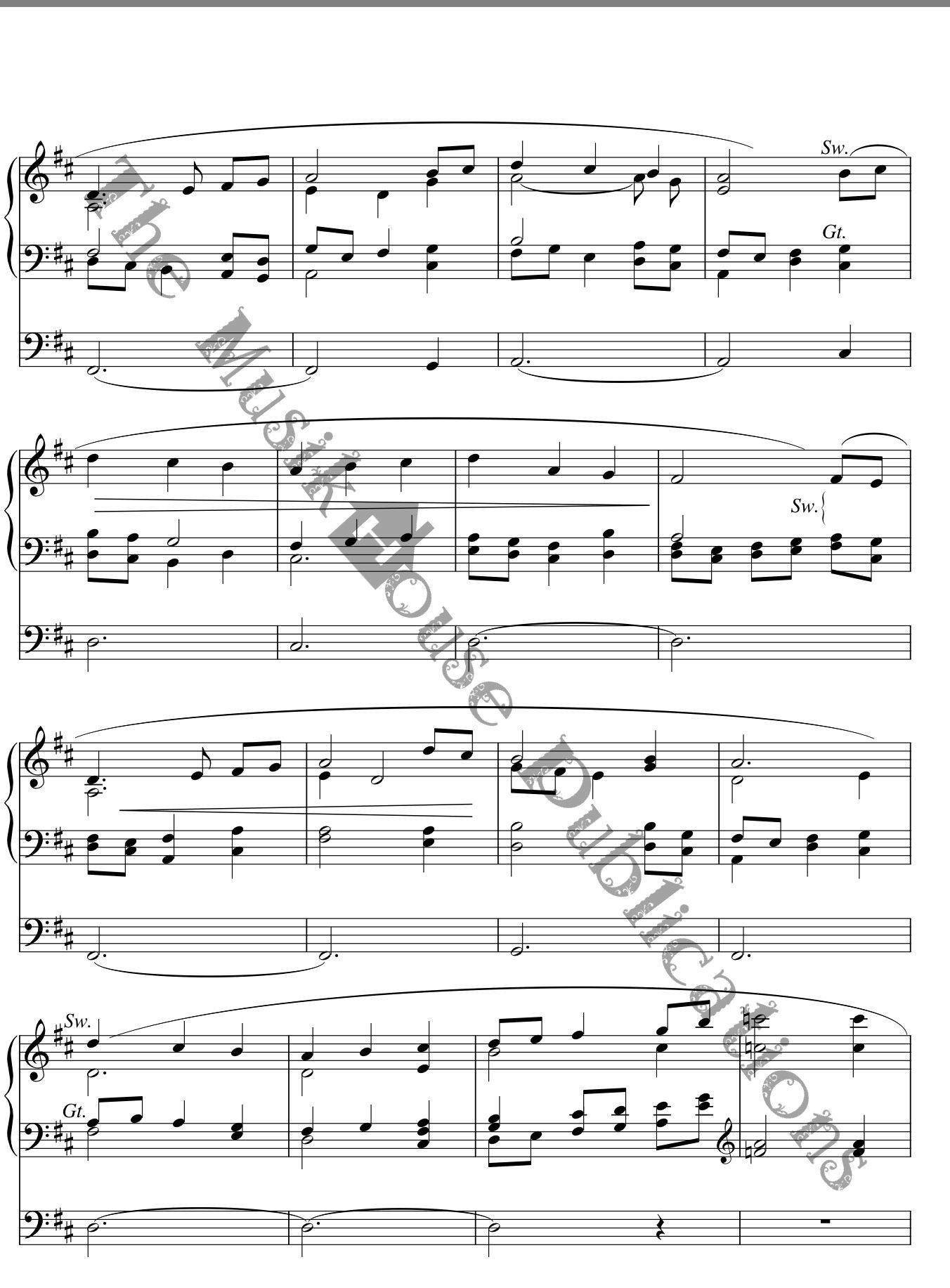 Prelude on Away In A Manger - Organ/Piano