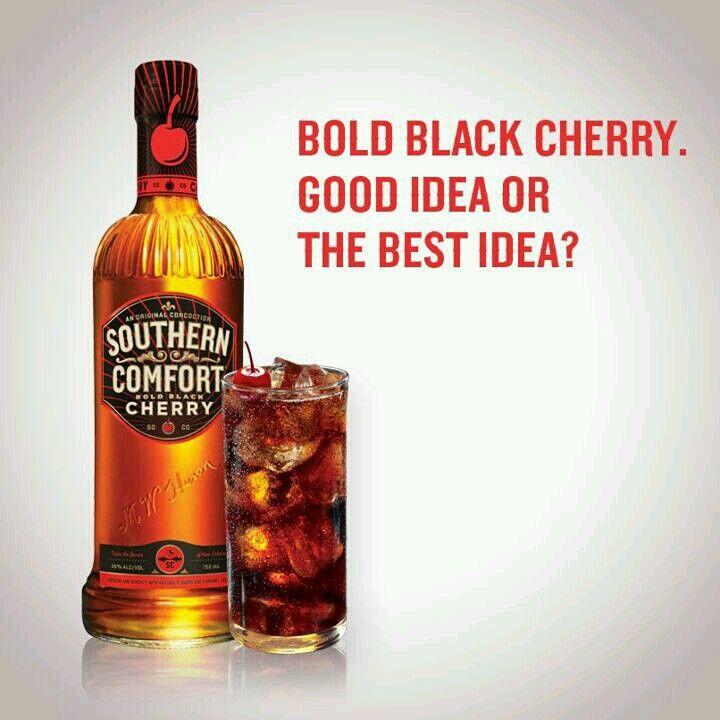 Soco Coke Bottle Southern Comfort Drinks