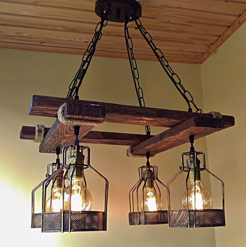 30 Best Handmade Industrial Lighting Designs Ideas You Can Diy Coodecor Industrial Lighting Design Rustic Lighting Fixtures Diy