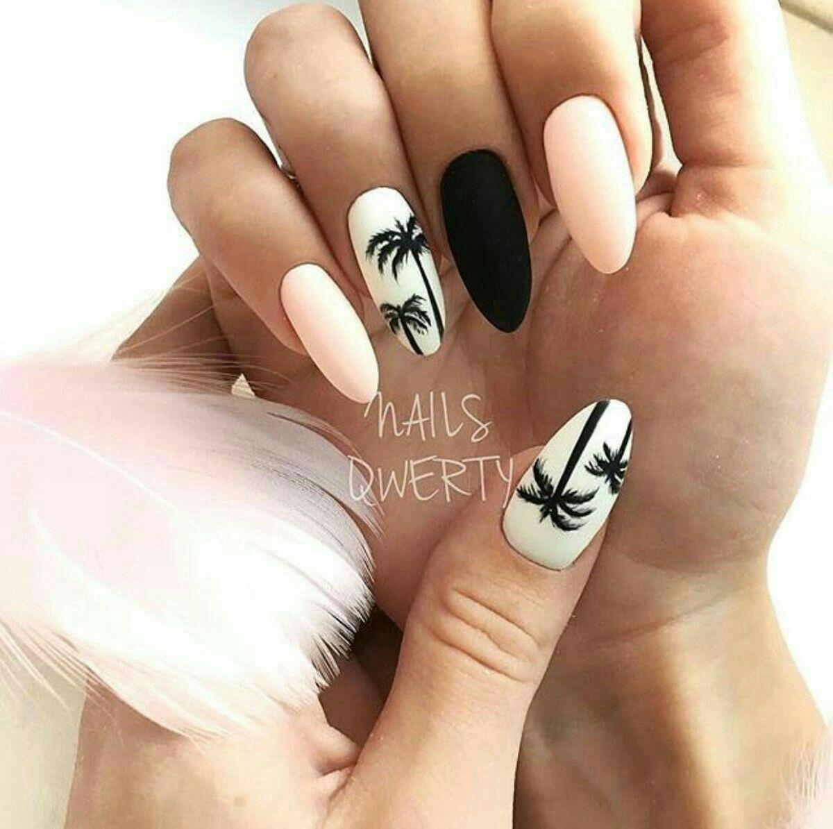 hottest beach nail ideas designs for summer cool nails