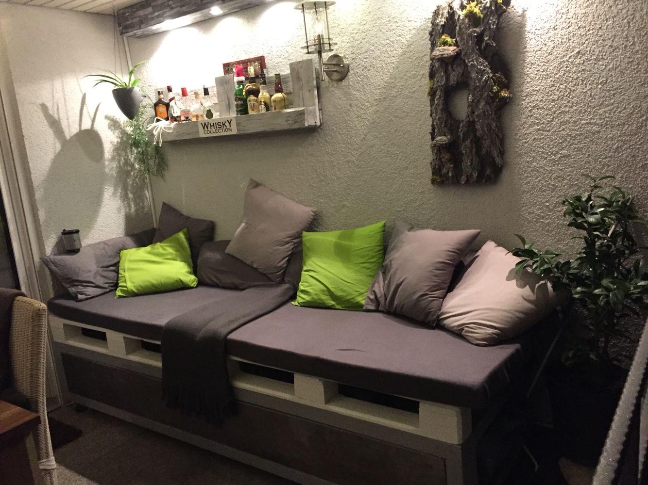 balkon lounge paletten sitzbank | ⚒ design by schunné | pinterest
