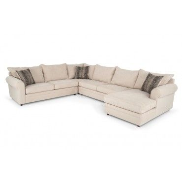 Venus Ii 4 Piece Left Arm Facing Sectional Also Comes In
