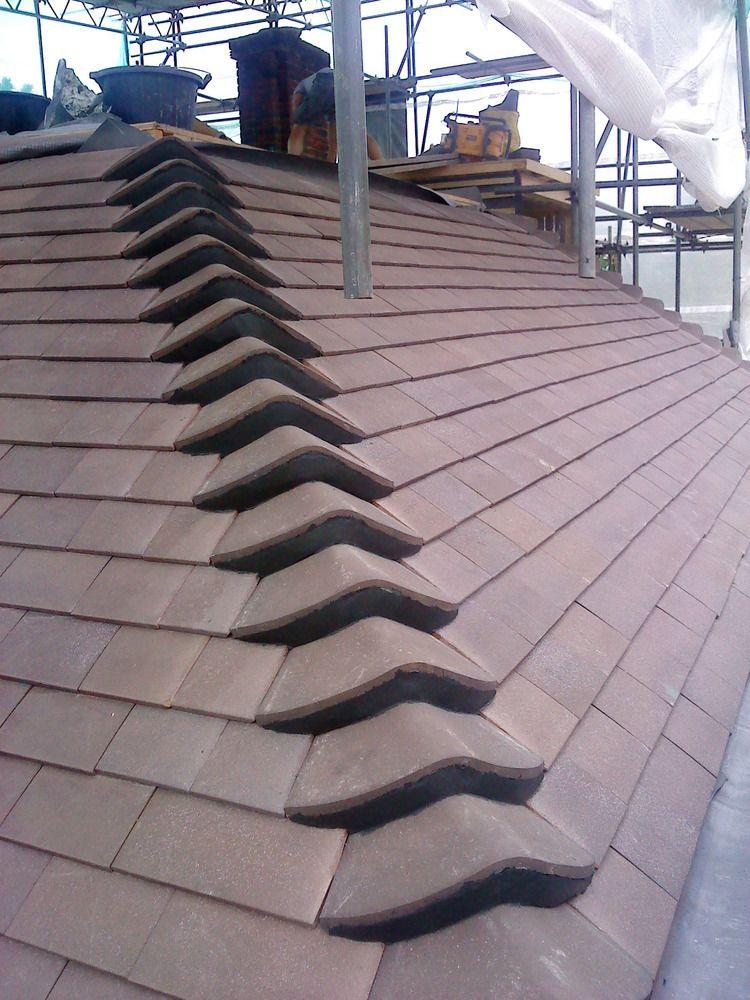 Bonnet Hip Tiles Technical Residential Home Decor