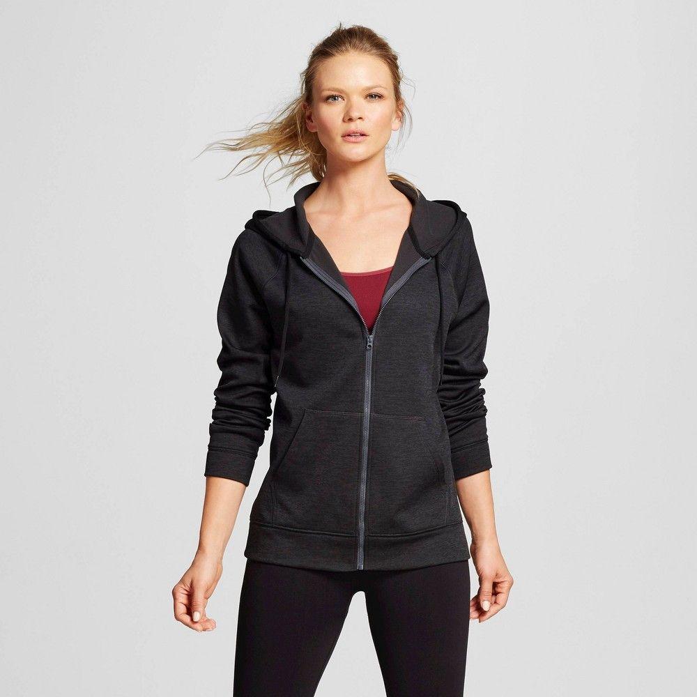 Women S Activewear Sweatshirt Black Heather L C9 Champion Black Grey Women S Activewear Sweatshirt Tech Fleece Hoodie Black Sweatshirts Active Wear Shirts [ 1000 x 1000 Pixel ]