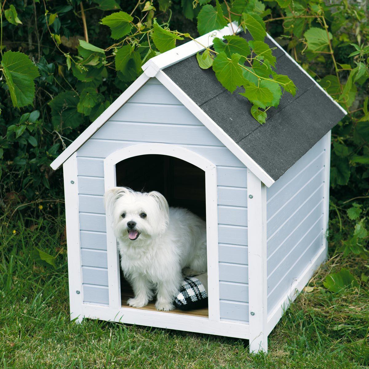 niche pour chien grise mirza maisons caves pinterest niche pour chien niche et gris. Black Bedroom Furniture Sets. Home Design Ideas