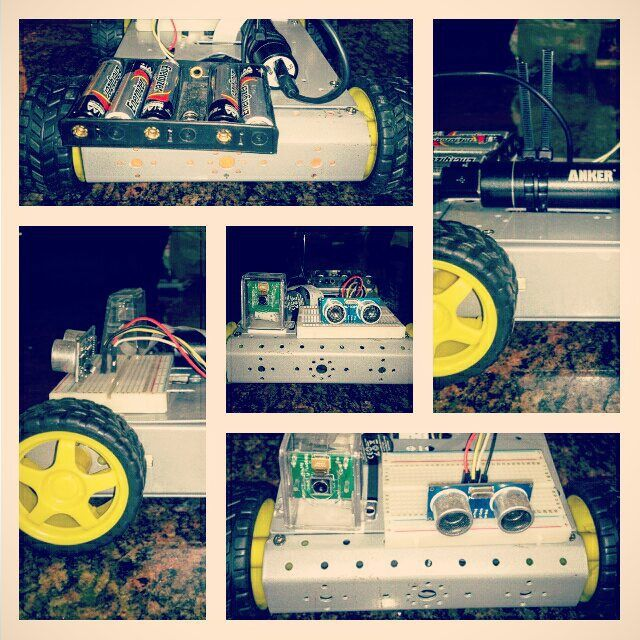 Something we loved from Instagram! Carro finalizado y operativo al 100% #bitacoradeunatesis #raspberrypi by 8jap Check us out http://bit.ly/1KyLetq