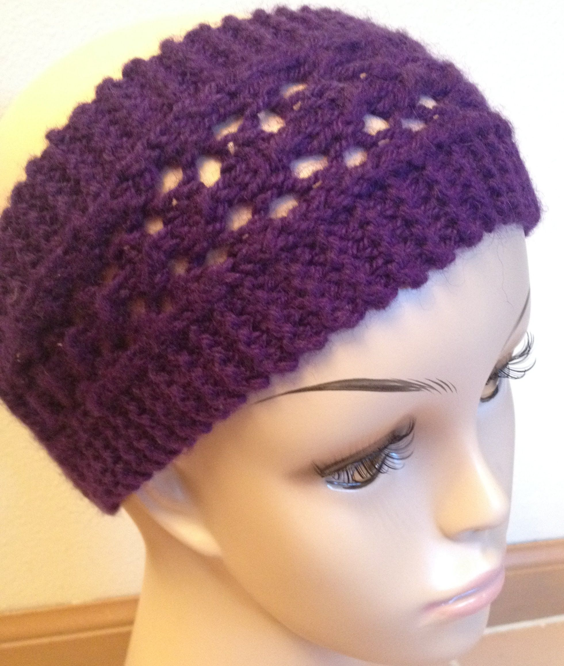 This video is made in corresponding to Easy Lacy Headband pattern ...