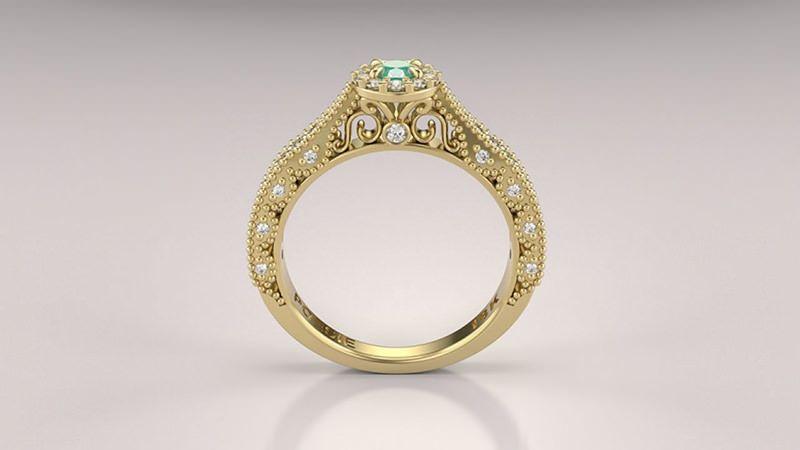 d70ff34be6b anel solitario elysian amarelo esmeralda alianca-de-noivado-com-esmeralda -e-diamantes