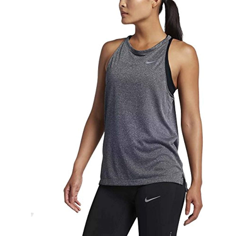 Nike womens drifit breathe running tank top to view