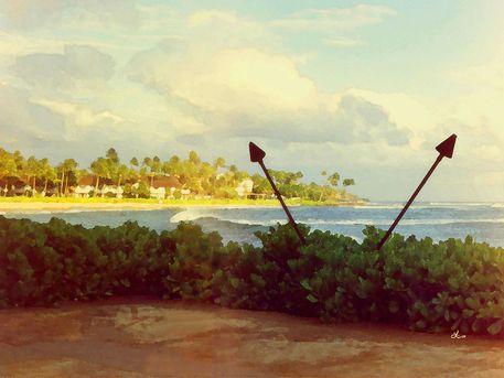 'Strand von Kauai, Hawaii' von Dirk h. Wendt bei artflakes.com als Poster oder Kunstdruck $18.03