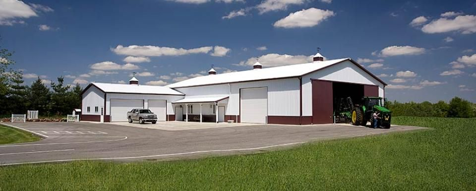 Farm Building Profile Use Farm Truck Utility Barn And Tool Shed Cold Storage Combination Size